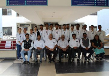 Campus drive of Infosys Ltd. for 2020 Batch
