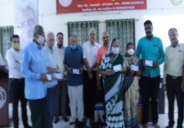 Deogiri Social club donate around 60,000(INR) medicines to Matoshri Vriddhashram Aurangabad